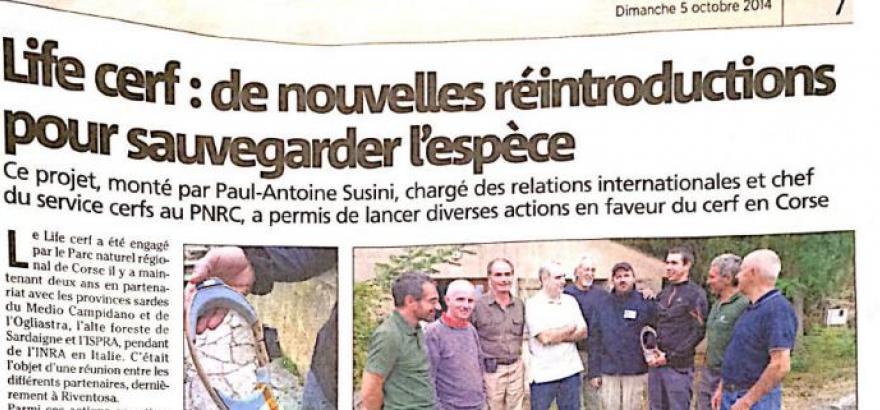 Partners Meeting – Corte (Corsica)