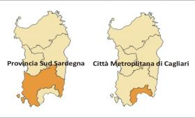 administrative limits  change in south Sardinia
