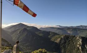 Panoramica monti tra Marganai e Linas