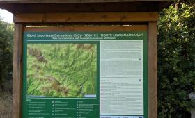 pannello area SIC presso MAMENGA (Marganai-Igles