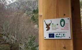 i panelli LIFE per le casette deerwatching