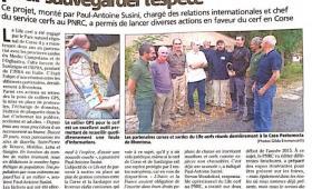 Réunion de coordination entre les partenaires – Corte (Corse)
